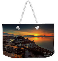 A Morning On The Rocks Weekender Tote Bag