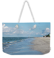 A Morning Walk On Fort Myers Beach Fort Myers Florida Weekender Tote Bag