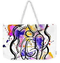 A Mother's Love Weekender Tote Bag by Diamin Nicole