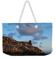 A Mountain With A View Weekender Tote Bag