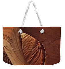 A Natural Abstract Dist Weekender Tote Bag