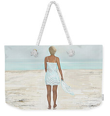 Weekender Tote Bag featuring the painting A Natural Beauty by Leslie Allen