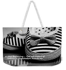 A New Beginning Weekender Tote Bag by Patrice Zinck