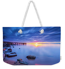 Weekender Tote Bag featuring the photograph A New Dawn by Edward Kreis