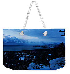 A New Day Dawns Over The Village Weekender Tote Bag by Sean Sarsfield
