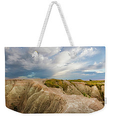 A New Day Panorama Weekender Tote Bag