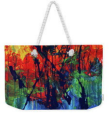 A New Day Weekender Tote Bag by Maria Arango
