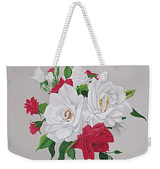 A New Rose Bouquet Weekender Tote Bag