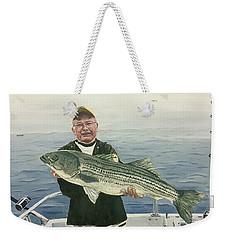 A Nice Catch Weekender Tote Bag