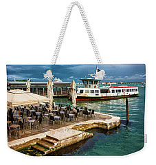 A Nice Place To Eat In Venice Weekender Tote Bag
