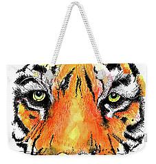 A Nice Tiger Weekender Tote Bag