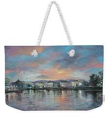 A Night At Geneva Weekender Tote Bag by Vali Irina Ciobanu