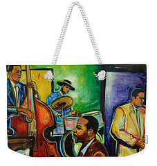 A Night For Smooth Jazz Weekender Tote Bag