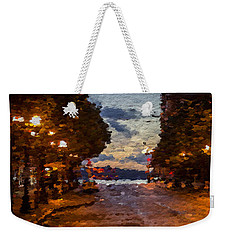 A Night Out On The Town Weekender Tote Bag