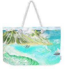 A Ocean Some Where Weekender Tote Bag