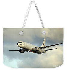 A P-8a Poseidon In Flight Weekender Tote Bag