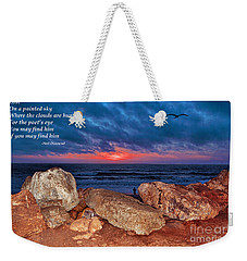 A Painted Sky For The Poet's Eye Weekender Tote Bag