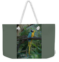 A Parrot's Life Weekender Tote Bag