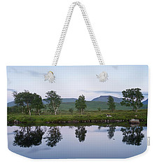 A Pastel Sky Over Loch Ba Weekender Tote Bag
