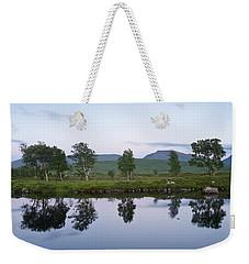 A Pastel Sky Over Loch Ba Weekender Tote Bag