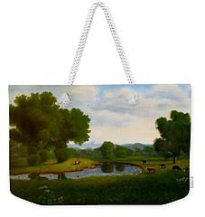 A Pastoral Landscape Weekender Tote Bag