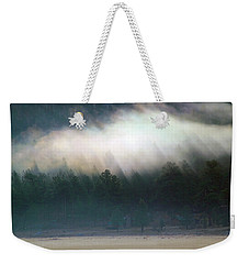 Weekender Tote Bag featuring the photograph A Patch Of Fog by Shane Bechler