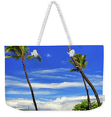 Weekender Tote Bag featuring the photograph A Path In Kaanapali by James Eddy