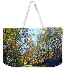 A Path In The Autumn Weekender Tote Bag