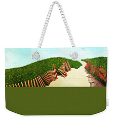 A Path Of Light Smaller View For Prints From Oil Painting Weekender Tote Bag