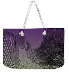 A Path To The Atlantic Weekender Tote Bag