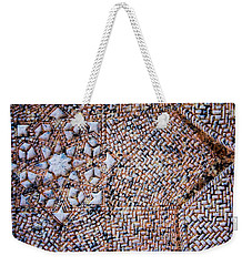 A Pattern To Everything Weekender Tote Bag by Lisa Brandel