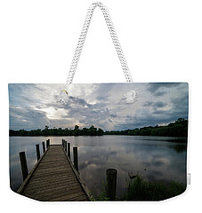 A Peaceful Evening At The Lake Weekender Tote Bag