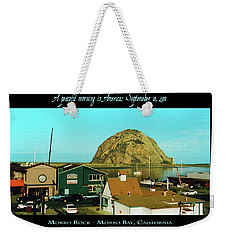 A Peaceful Morning In America 9-10-01 Weekender Tote Bag