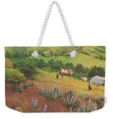 A Peaceful Nibble Weekender Tote Bag
