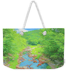 A Peaceful Summer Day In Southern Vermont. Weekender Tote Bag