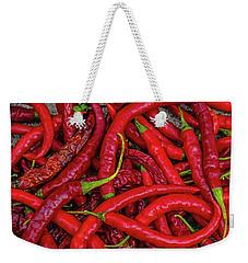 A Peck Of Unpickled Peppers Weekender Tote Bag