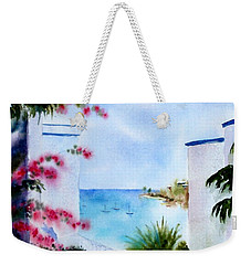 A Peek At Paradise Weekender Tote Bag