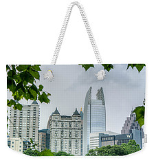 A Peek At The Atlanta Skyline Weekender Tote Bag