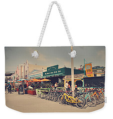 A Perfect Day For A Ride Weekender Tote Bag by Laurie Search