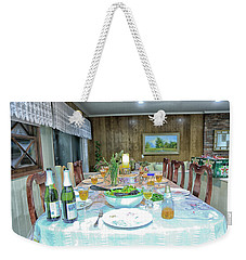 A Perfect Setting Weekender Tote Bag