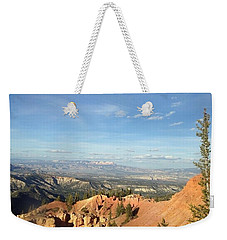 A Perfect Spot At Bryce Canyon Weekender Tote Bag
