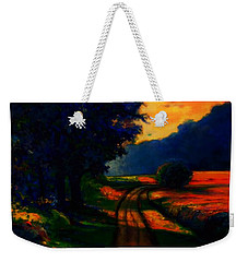 A Perfect Summer Weekender Tote Bag by Emery Franklin