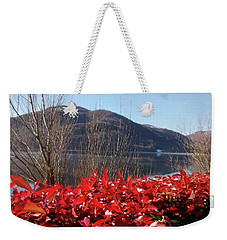 A Perfect Winter Day Weekender Tote Bag
