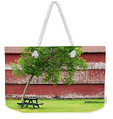 Weekender Tote Bag featuring the photograph A Picnic For You And Me by Corinne Rhode