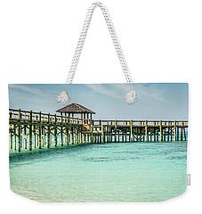 A Pier In The Bahamas Weekender Tote Bag