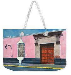 Colonial Mansion Weekender Tote Bag