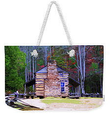 A Place In The Woods Weekender Tote Bag