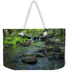 A Place Of Solitude Weekender Tote Bag by Sue Cullumber