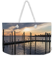 A Place On The River Weekender Tote Bag
