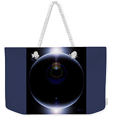 A Planet  Far, Far   Away . . .  Weekender Tote Bag by Hartmut Jager